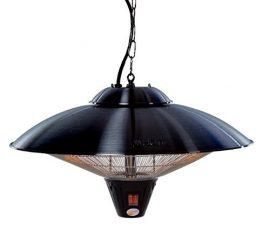CE09B exkluzív halogén lámpás teraszfűtő, LED világítással